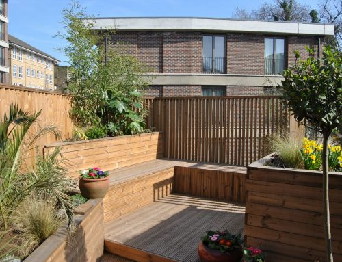 Design of a roof terrace